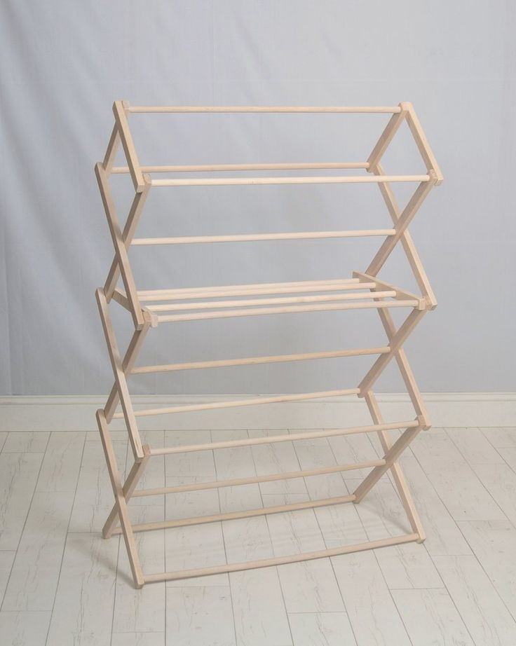 how to make a small clothes rack