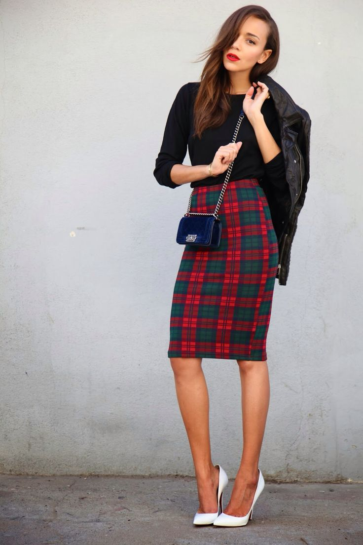 17 Best images about fashion on Pinterest | Leather midi skirt ...