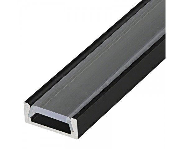 Low Profile Aluminum Led Strip Channel Surface Mount Led