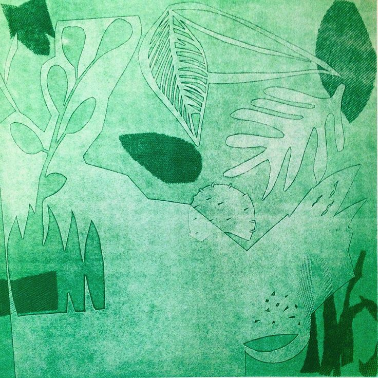 Mono Type courtesy of Rita Villa Batista. Fine Art Experimental Printmaking shortcourse @ Central St Martins
