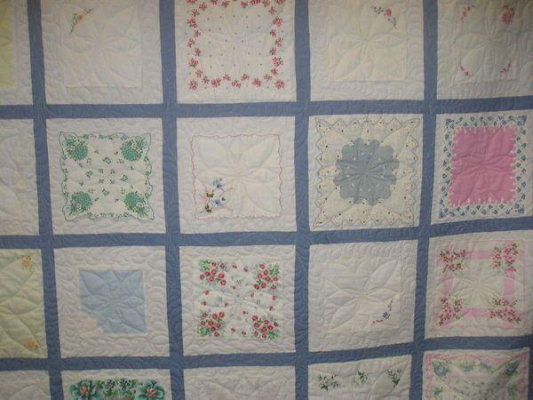 Handkerchief Quilt Pattern