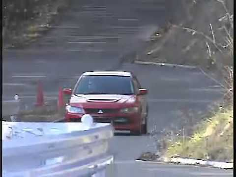 EVO IX driving by Gilles Panizzi - YouTube