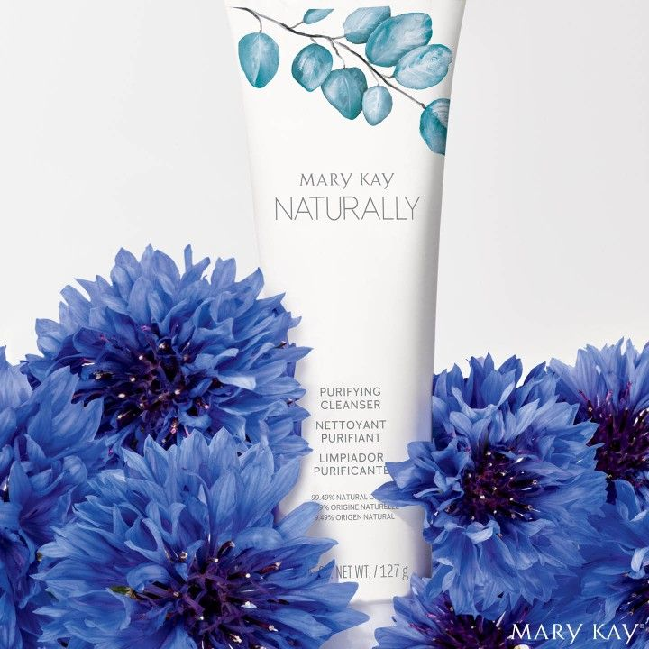Explore The Cleansing Power Of The Marykay Naturally Purifying Cleanser Infused With Cornflower Floral Water Purifying Cleanser Mary Kay Mary Kay Skin Care