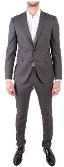Tagliatore Men's Grey Linen Suit. #ad