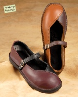 I'm getting a pair of these Genoa Style Women's Shoes custom made in dark brown and black from Sara's Shoes.
