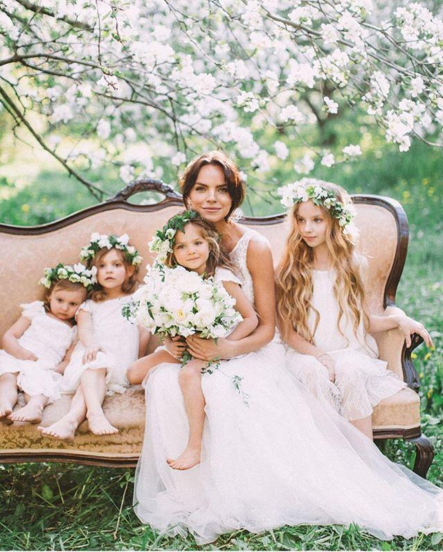 Hearts are bursting... right now  Event Concept and Design @mrsmaxim.wedbureau / Floral Design @flowerslovers.ru / Photography @anastasia_volkova / Videographer @yanayartseva / MUA @beautybrideteam / Model @makareshka / Dress @vanilastudio / Jewellery @magiadigamma / Furniture @antikoff / As seen in @simplebeyond __ #loveauthentic #loveintentionally #utterlyengaged #loveoflife #mylifeinlove #weddinginspiration #flowergirls #isaidyes #bride