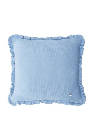 70% OFF Sonia Rykiel Comme Un Cadeau Decorative Pillow, Bleu Tendre