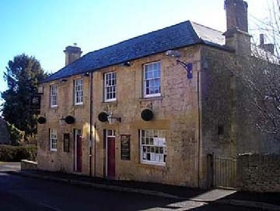 The Great Western Arms, pub on Station Road, Blockley, England