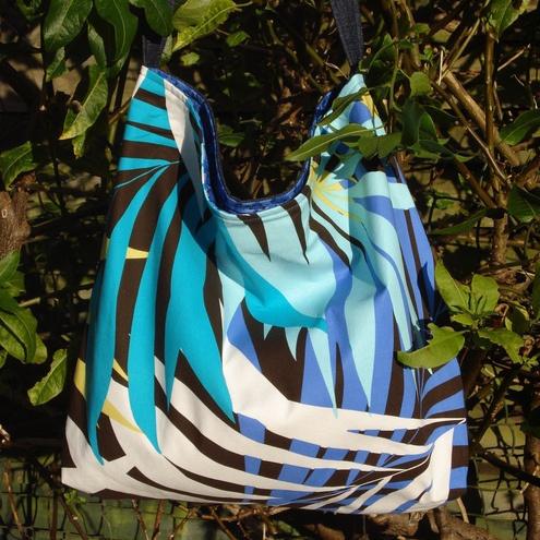 SALE Denim & Blues Bag - Folksy