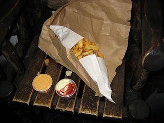 Pomme Frite's fries