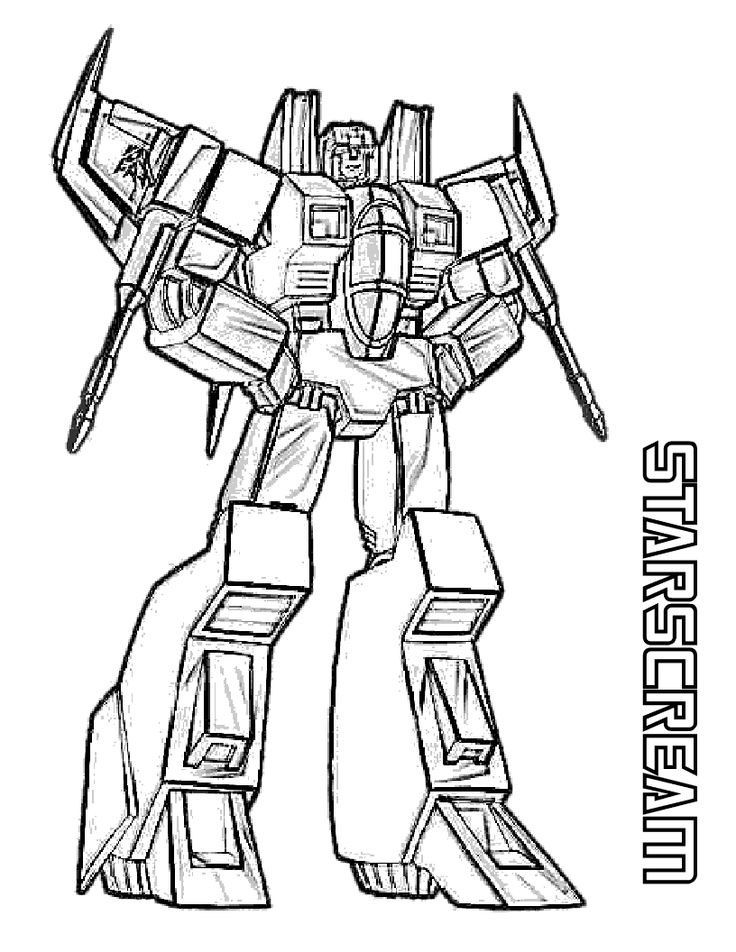 Pin By Julia On Colorings Transformers Coloring Pages