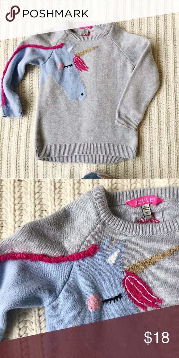 Joules horse sweater Toddler sweater with fun sleeve! Joules Shirts & Tops Sweaters