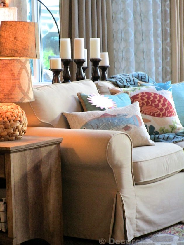 Living Room Arrangement From BHG Walmart