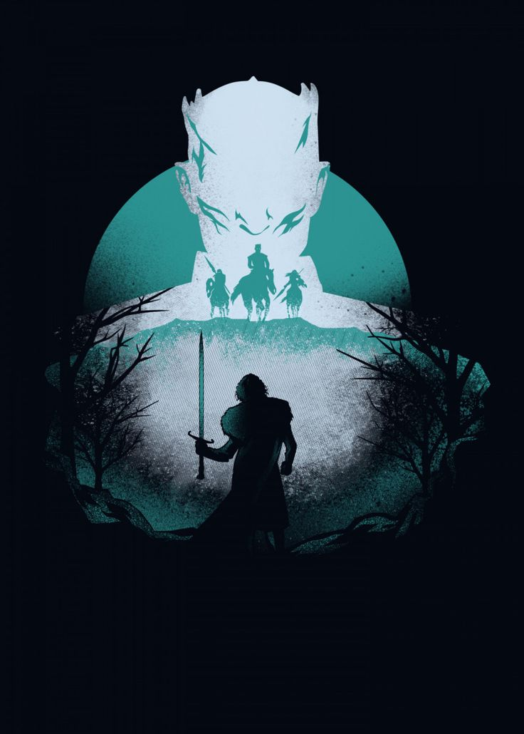 Wolf Vs Night Tv Shows Poster Print Metal Posters Displate Game Of Thrones Artwork Game Of Thrones Art Gaming Wallpapers