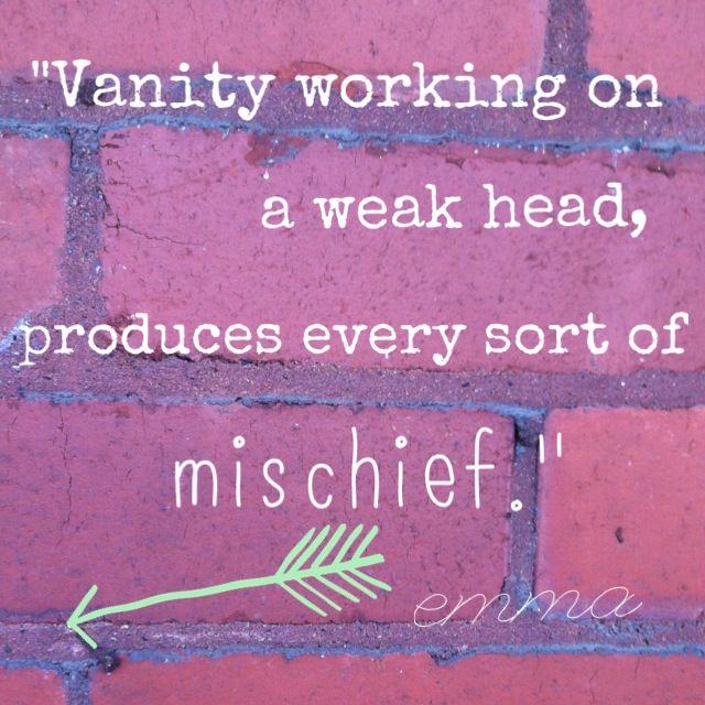 Mr. Knightley: Vanity working on a weak mind produces every kind of mischief. - Emma directed by Douglas McGrath (1996) #janeausten #fanart