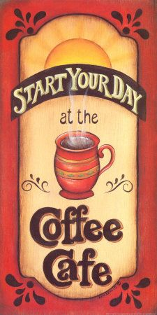 Coffee. [Where are you, Coffee Cafe? Next door would be perfect!]