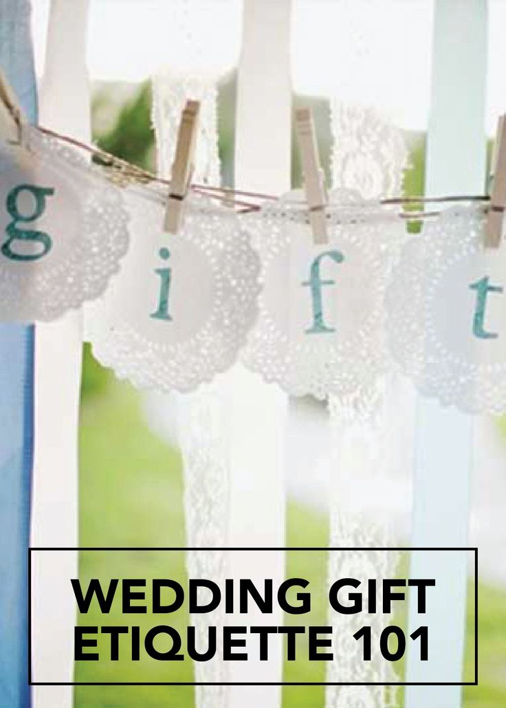Wedding Gift Etiquette : about Wedding Gift Etiquette on Pinterest Engagement party etiquette ...