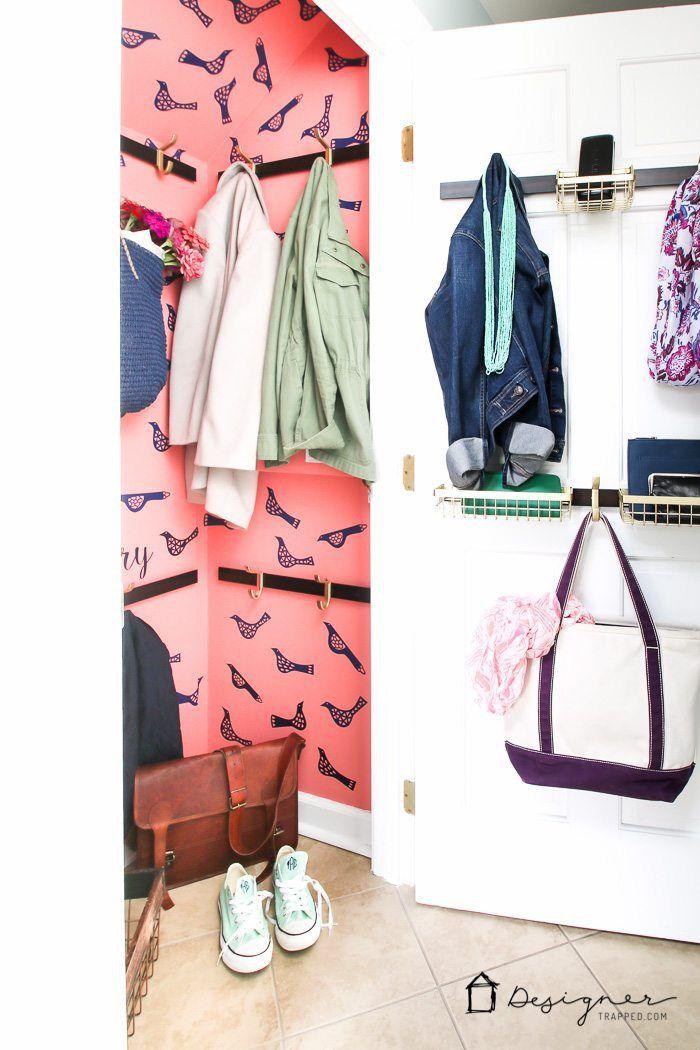 244 best Entryway Ideas images on Pinterest | Coat storage, Door ...