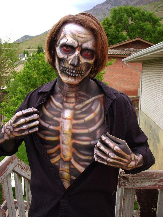 92 best Skull makeup images on Pinterest | Costumes, Halloween ...