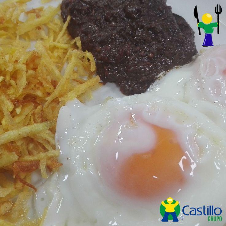 Morcilla de León con Huevos