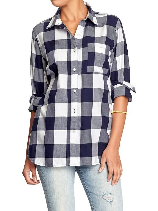 women 39 s plaid flannel boyfriend shirts product image my