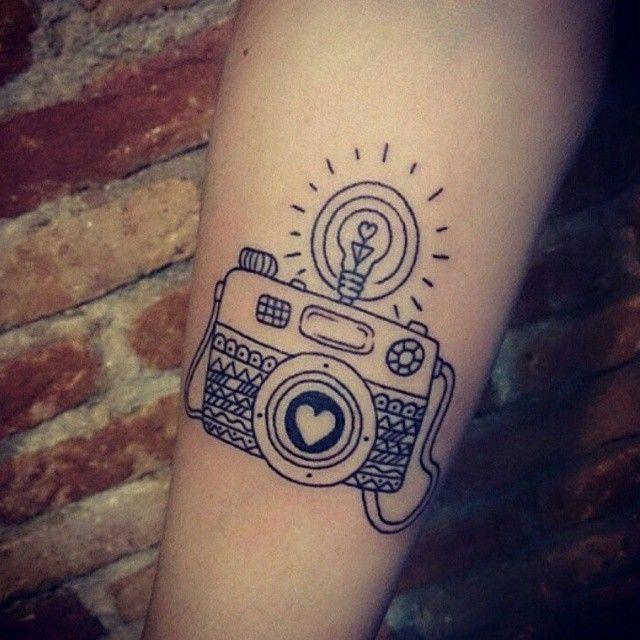 17 Melhores Ideias Sobre Tatuagens De C&226mera No Pinterest