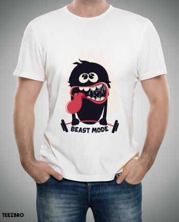 Beast Mode Funky Tshirt Online funky Tshirts Available now at Teezbro.com