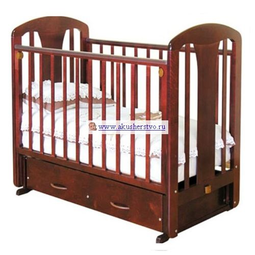 Детская кроватка Можга (Красная Звезда) Виталина С-851 (маятник поперечный)
