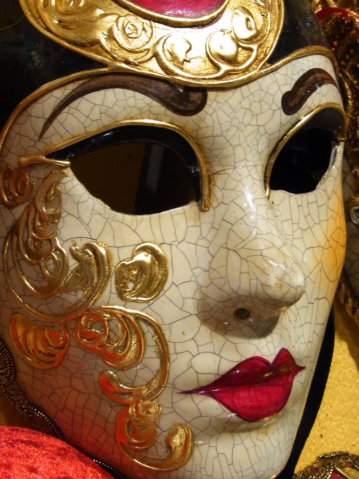 one of our  beutiful Venetian mask, made in our four stores located in Venice