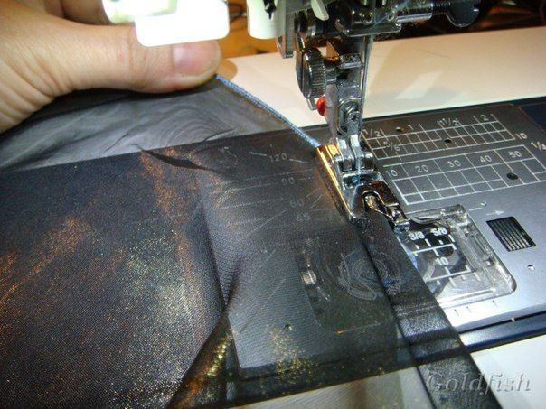 обработка срезов лапкой улиткой