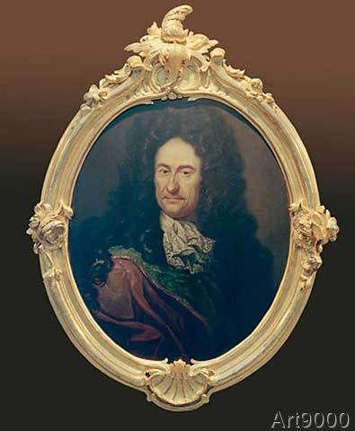 Johann Friedrich Wentzel der Ältere - Gottfried Wilhelm Leibniz / Wentzel