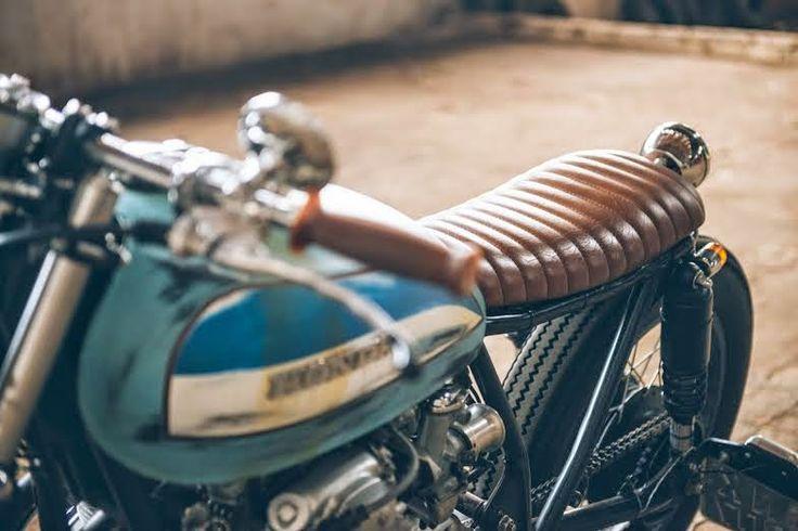 4º - CB 500 Four Bratstyle | Garagem Cafe Racer