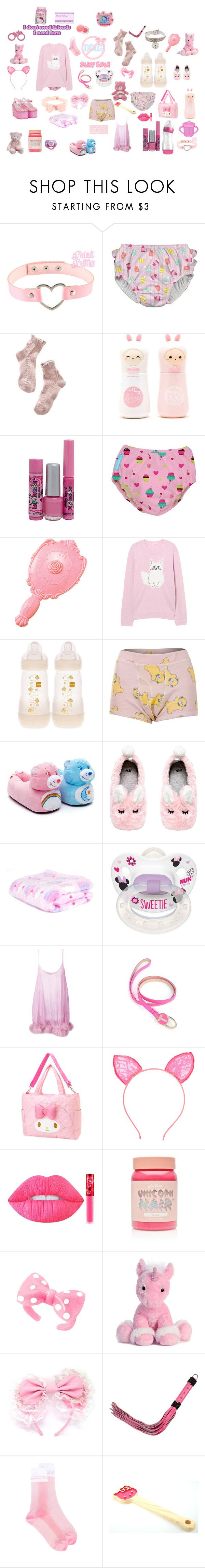 """""""daddies princess"""" by unicorn-923 ❤ liked on Polyvore featuring 1937, TONYMOLY, Bonne Bell, Disney, Wildfox, Gilda & Pearl, Venom, Ted Baker, Lime Crime and INC International Concepts"""