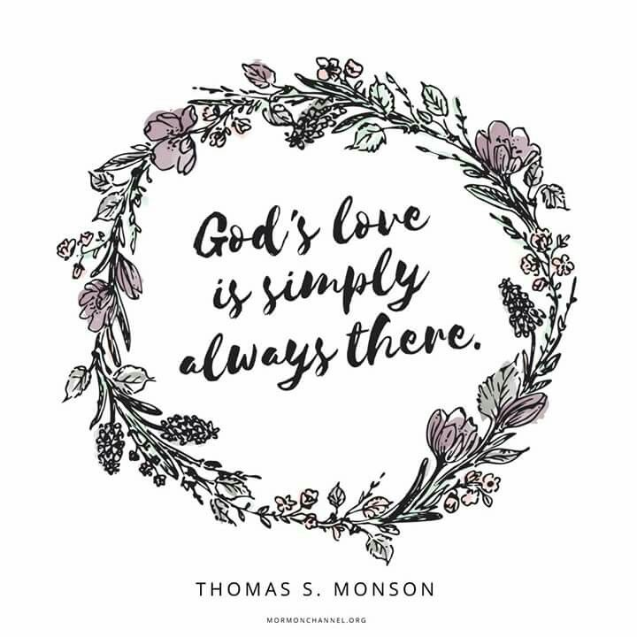 God's love is simply always there