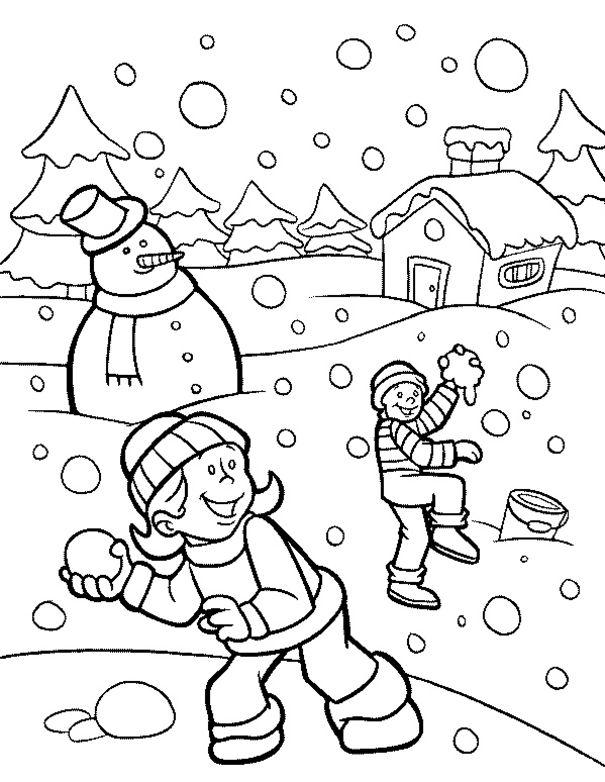 malbilder winter