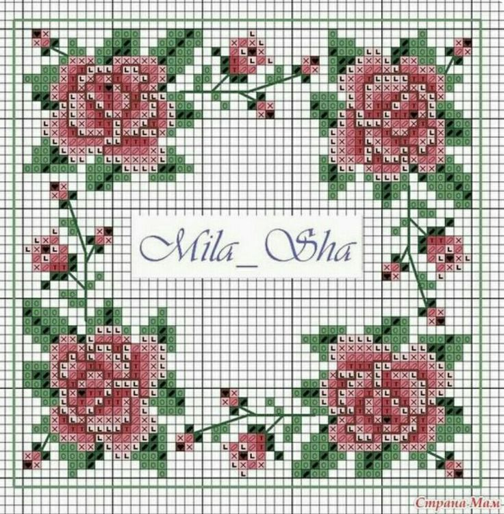 #crossstitch #kanaviçe #güller #roses