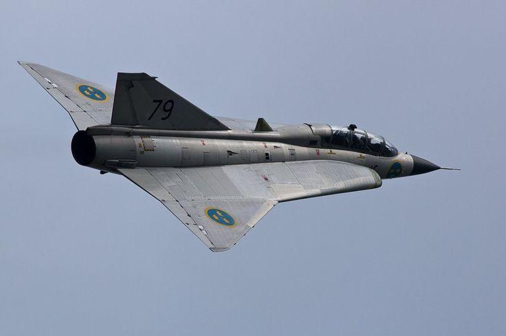 """bmashina: """"SK 35C Draken Swedish air force """""""