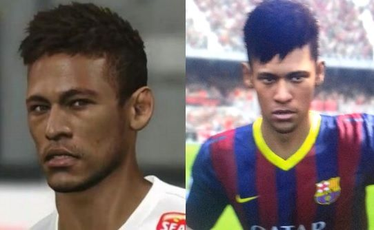 Neymar hoje é o jogador brasileiro mais badalado do futebol mundial. Há um ano, o craque foi capa da franquia Pro Evolution Soccer com o Santos e agora é destaque do Barcelona, primeiro time parceiro especial da série Fifa. Para traçar a visão das desenvolvedoras sobre o atleta brasileiro, separamos