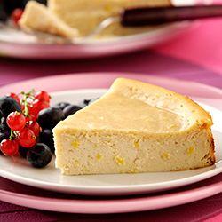 Cheesecake met ricotta en citroen