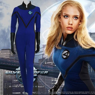 Fantastic Four 4 Invisible Woman Cosplay UK Costumes
