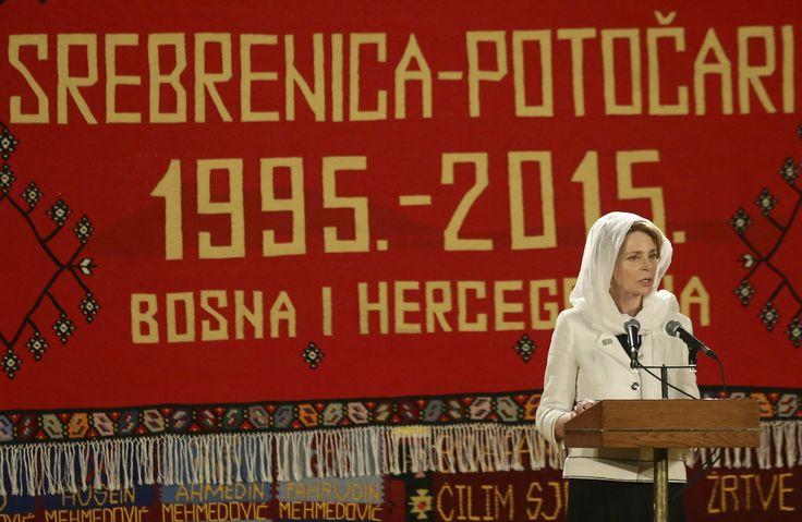 Foro Hispanico de Opiniones sobre la Realeza: La reina Noor y la princesa Ana en el 20 aniversario de la masacre de Srebrenica en Serbia