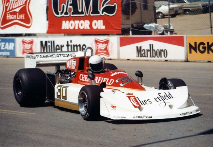 Brett Lunger (Chesterfield Racing/BS Fabrications) March 761 - Ford
