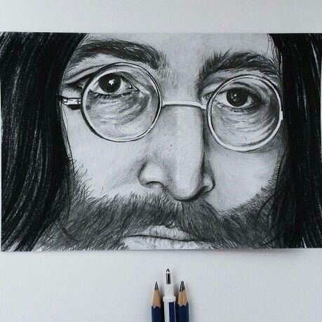 Genius John  #drawing #johnlennon