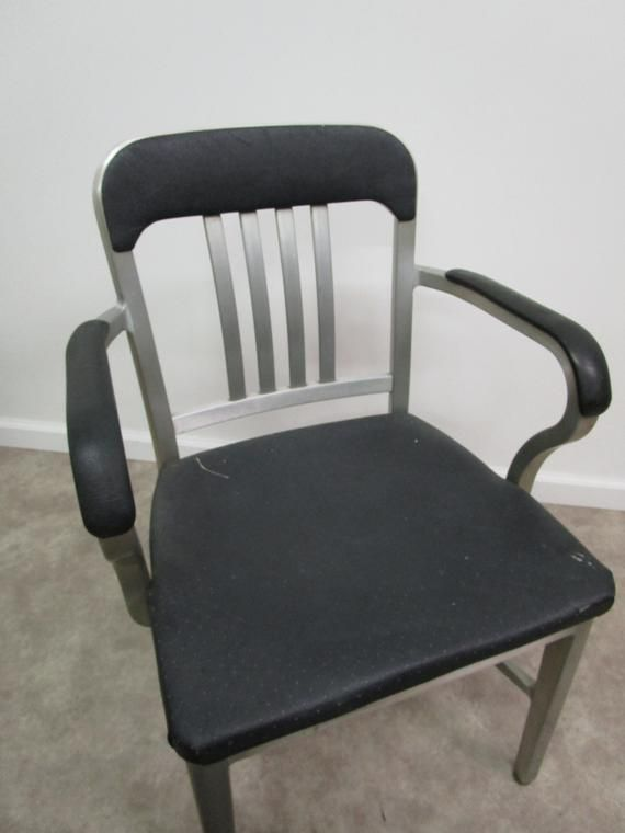 Goodform Mid Century Arm Chair General Fireproofing Navy
