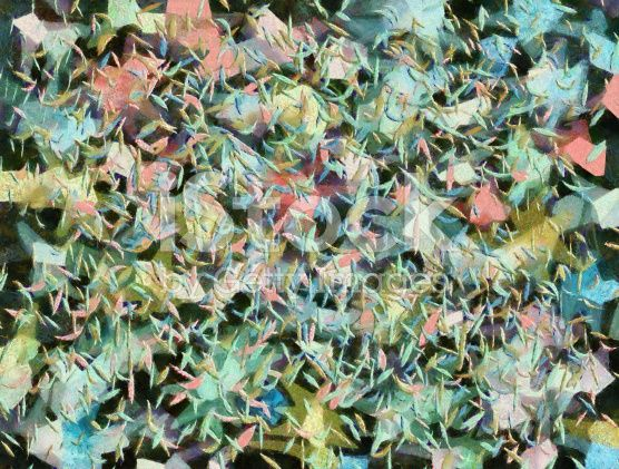 Abstract Expressionism Modern Art Painting royalty-free stock illustration