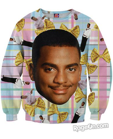 Carlton Sweatshirt - RageOn! - The World's Largest All-Over-Print Online Store