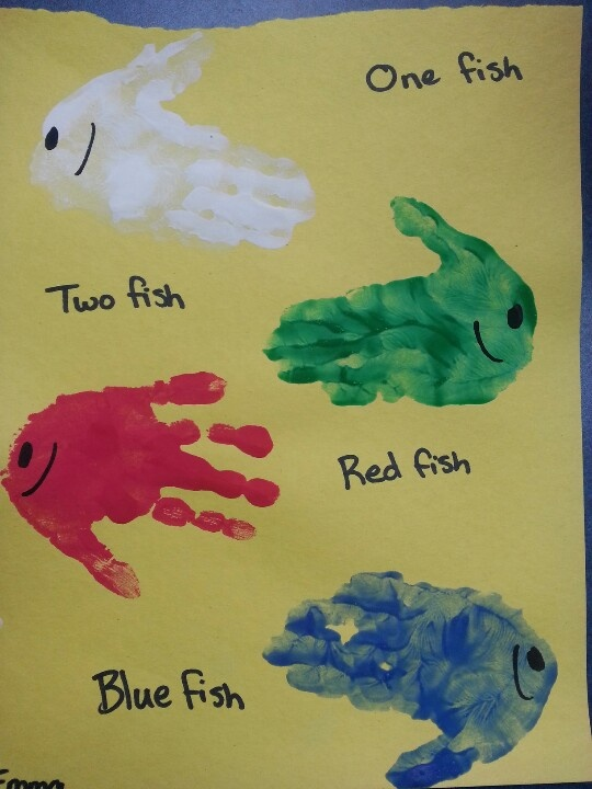 Dr sueuss week one fish two fish red fish blue fish for One fish two fish red fish blue fish activities