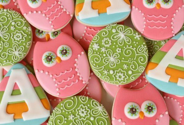 Simple Owl Cookies