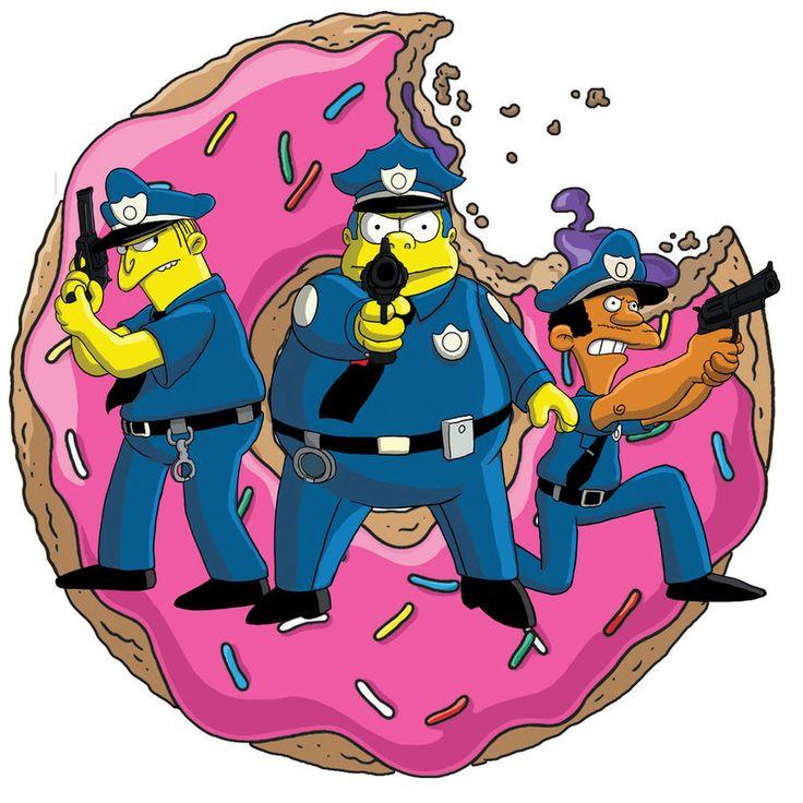 deviantART The Simpsons | Simpsons Cops by fillmarc