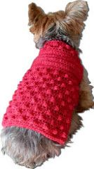 NOTE: ALL PATTERNS OFFERED HERE ARE FOR YOUR PERSONAL USE AND ARE NOT TO BE USED TO MAKE ITEMS FOR SALE ON ETSY OR ELSEWHERE. THANK YOU! 'The Boyfriend' Dog Sweater boyfriend-sweater-pdf.pdf...